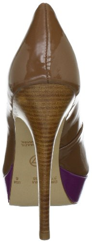 Beige 11286501 UNO VIA Klassische Cristal Pumps Damen Camel CqHvqXw
