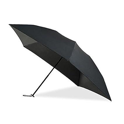 Paraguas plegable automatico Mujer niño Hombre an- Paraguas Solar Plegable Ultra Ligero de 100 g