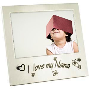 I Love My Nana Photo Frame