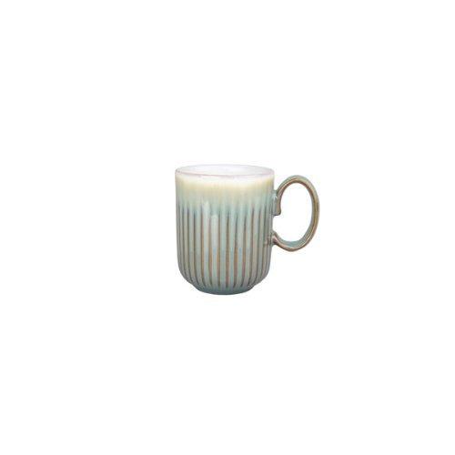 Denby FMG-116RG Regency Green Fluted Mug, Multicolor, Medium