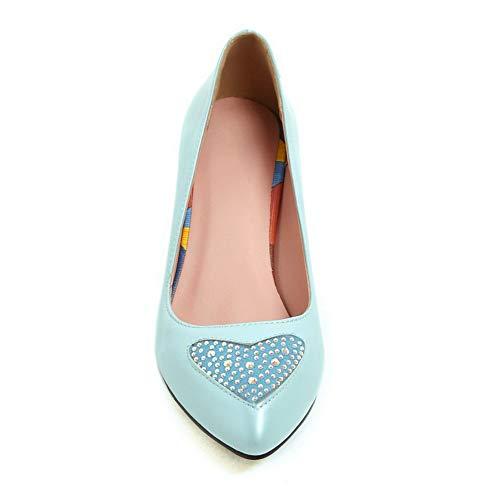 Compensées APL10738 Bleu 36 Femme 5 Sandales BalaMasa Bleu 4B1q8x