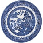 Churchill Blue Willow Fine China Earthenware Side Plate 6.5