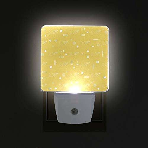 - Colorado Rocky Mountain LED Night Lights with Dusk to Dawn Sensor, Plug-in Lamp for Hallway Bathroom Kitchen, 2-Pack