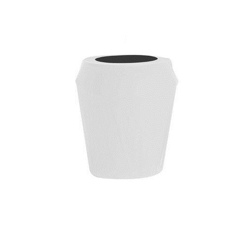 Kwik-Cover CANCVR-55gal-W 55-Gallon Kwik-Can Cover-White Fitted Garbage Can Cover (1 full case of 50)