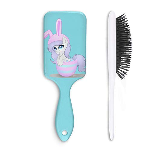 Fashion Soft Hair Brush clipart hat easter bunny - Pain Free - for Women Men Kids Good for Thick Thin Long Short Dry Damaged Curly any -