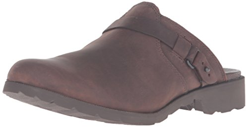 Teva Brown w Zoccoli Dkb Mule Delavina W Brown Donna dark xfqw68qIrt