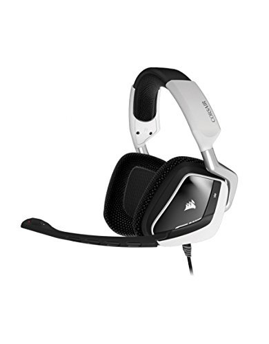 Corsair VOID USB RGB Gaming Headset, White (Renewed)
