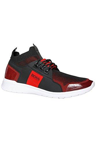 Uomini Athleisure Capo Extreme_runn_knit Alta Scarpa Da Tennis Rossa (640)