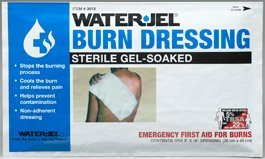 Water Jel Burn Dressing Gel Soaked 20 x 45cm by Waterjel
