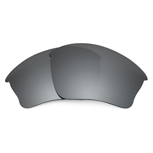 Revant Polarized Replacement Lenses for Oakley Half Jacket XLJ Black Chrome ()