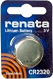 Renata CR2320 (BR2320) 3 Volt Lithium Coin Battery (Pack of 1)