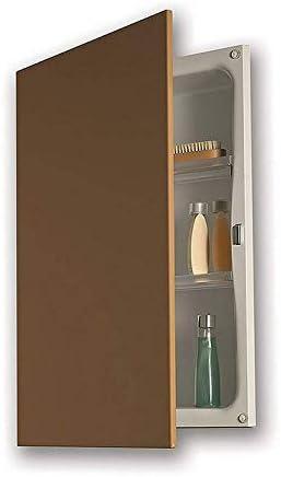 Jensen 622 Basic Hideaway Frameless Single-door Recessed Mount Medicine Cabinet
