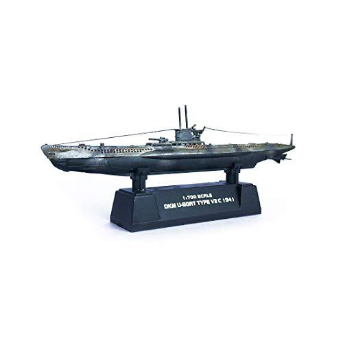- 1/700,Germany Submarine DKM U-Boat Type VII C,World War II, Military Model,Plastic Model,Gift