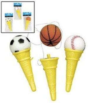 SPORT BALL ICE CREAM SHOOTERS (1 DOZEN) - BULK