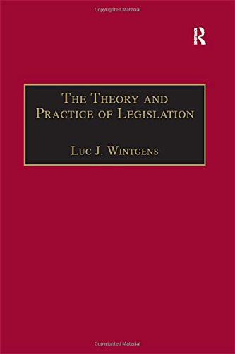 The Theory and Practice of Legislation: Essays in Legisprudence (Applied Legal Philosophy)