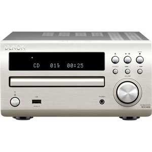 DENON CD Receiver Premium Silver RCD-M39SP 100V 50-60Hz (Japanese Import) (Denon Home Audio Headphones)