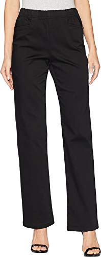 FDJ French Dressing Jeans Women's D-Lux Denim Pull-On Suzanne Bootcut Ebony 6 30.5
