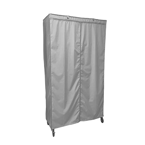 Formosa Covers Storage Shelving Unit Cover, fits Racks 36 Wx18 Dx72 H (Cover Only Grey Color)