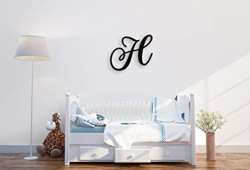 """XL Wall Decor Letters Uppercase H 