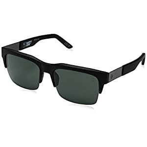 Spy Optic Malcolm 673246374863 Flat Sunglasses, 56 mm (Matte Black/Happy Gray/Green)