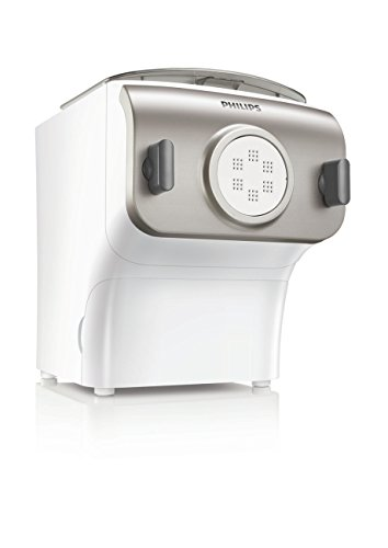 Philips HR2357/05 Noodle Pasta Maker, White and Silver