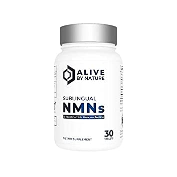 NMN Sublingual Tablets (30 x 125mg) | AliveByNature | Nicotinamide  Mononucleotide Supplement | NAD Boosters | Anti Ageing Supplements | Alive  By