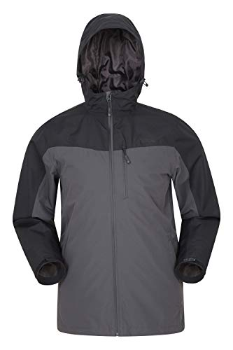 Mountain Warehouse Brisk Extreme Mens Waterproof Rain Jacket -
