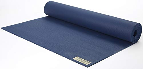 Jade Fusion 74-Inch x 5/16-Inch Yoga Mat (Midnight Blue) Bean Products Natural Rubber