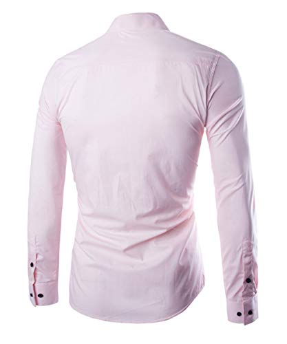 a da classica uomo Allthemen lunghe maniche Camicia da uomo wpSt5qc