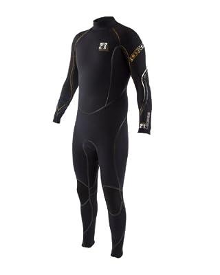 Body Glove Men's 4/3mm Legends Back-Zip Full Body Wetsuit, Medium/Tall
