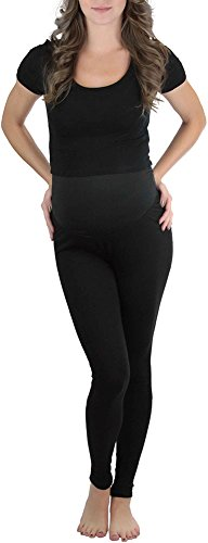 ToBeInStyle Women's Maternity Leggings in Stretch Jersey Fabric