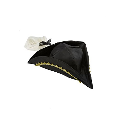 Fancy Party Halloween Colonial Hat With White (Colonial Girl Costumes Virginia)