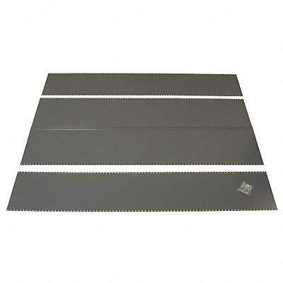 Edsal Panel Kit 24 ga. Gray 36 in W 18 in D