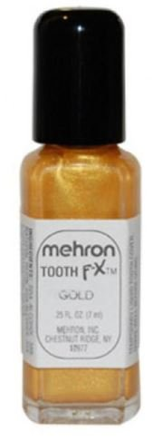 [.25 Oz (Gold Tooth) Tooth F-X Mehron] (Costumes F)