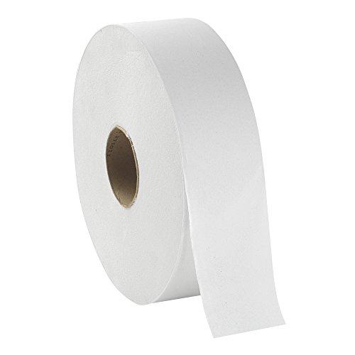 Sr Plush (Georgia-Pacific Acclaim 13105 White 1-Ply Jumbo Sr. Bathroom Tissue, 4000' Length x 3.5