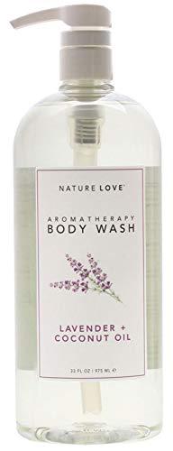 Nature Love Moisturizing Body Wash, Lavender and Coconut Oil (Love Body Oil)