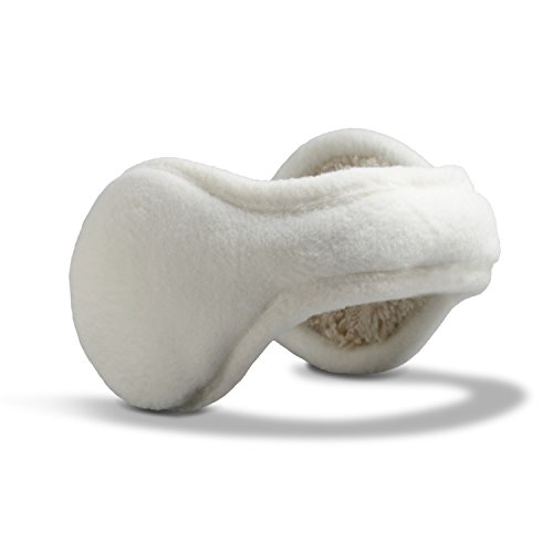 180s Women's Tahoe Ear Warmers,Snow,One Size White Earmuffs