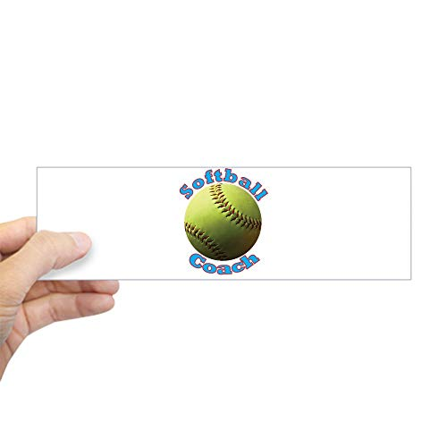 CafePress Softball Coach Bumper Sticker 10