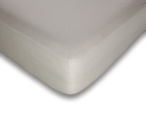 Sheet Thomasville Fitted (Fashion Bed Group 74TRPP204 Platinum 3-Piece Mattress and Pillow Protector Set with Stain and Dust Mite Defense, Cal King)