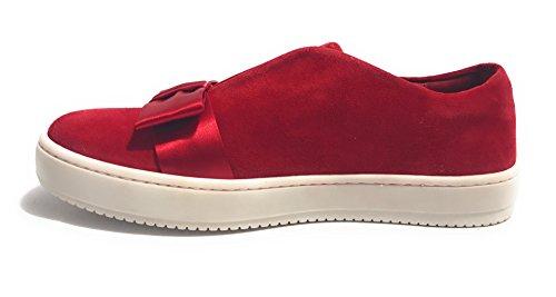 Ante Para De Aurora Rojo Zapatillas Mujer tqHznx5wEF
