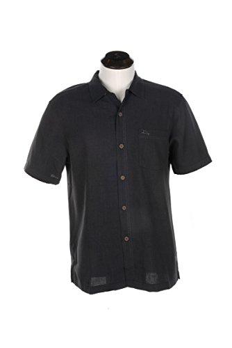 Royal Bermuda (Tommy Bahama Men's Royal Bermuda Camp Shirt Black Large)