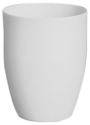 CoorsTek 65507 High-Alumina High Form Crucible, 500mL Capacity, 90mm OD, 118mm Height