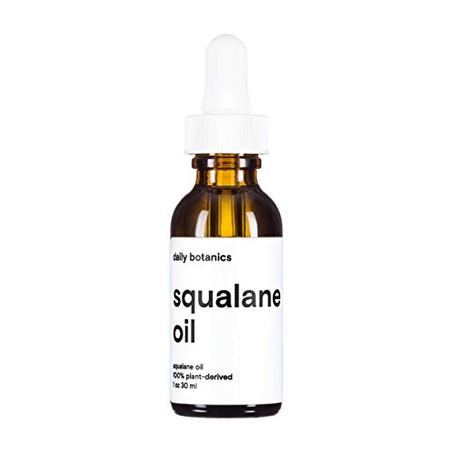 Daily Botanics Squalane Oil - 100% plant-derived - Lightweight Hydration - All Natural - 1oz ()