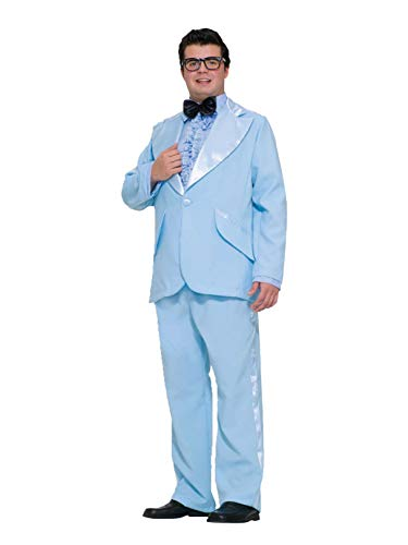 Dumb And Dumber Halloween Costumes Female (Prom Tuxedo Adult Costume Blue - Plus)