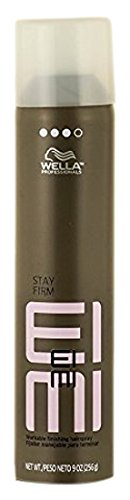 Wella Stay Firm Workable Finishing Spray, Versatile Spray, Craft and Finish Any Style, Hold Level 3, Protects Against Heat Damage, 9 oz. Protect Finishing