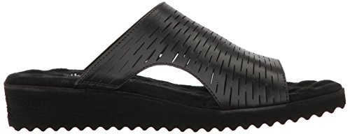 Black1 Walking Hartford Women Cradles Flat Sandal wXWrwaPOZq