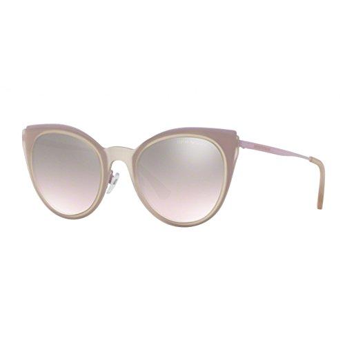 Pink para Rosa Violet Armani Sol de Mujer Gafas 32178Z 0EA2063 Emporio 52 Ltbrownsilvergrad wTxWCaqn