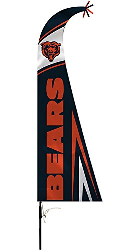 Nfl Chicago Bears Feather Flag  44   Multicolor