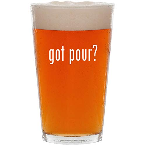 - got pour? - 16oz All Purpose Pint Beer Glass