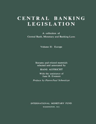 Central Banking Legislation Volume 2